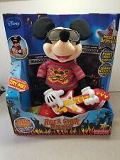 Fisher Price Disney Rock Star Mickey Mouse Singing Plush Toy Sealed Damaged Box