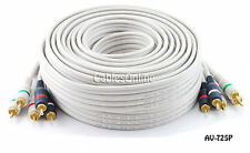 25ft. High Quality Python® Component Audio/Video 5-RCA (RGB/RW) Cable, AV-725P