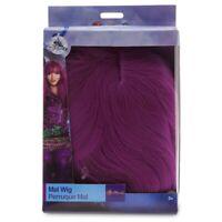 New Disney Store Descendants 2 Mal Purple Wig Hair Costume Child Girl