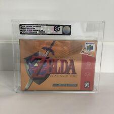 Nintendo N64 Zelda Ocarina Of Time Vga 85 Nm Sealed Game Collectors Edition