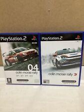 Colin McRae Ralley 04 Colin McRae 3 PS 2 Playstation 2 Racing Video Games