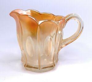 Vintage Marigold Carnival glass Creamer