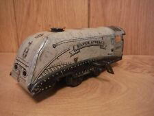 Wells Brimtoy Clockwork Locomotive Silver Streak (042)