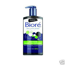 Biore Deep Pore Charcoal Cleanser Oil Free Skin Cleansing 200ml