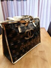 Beach/Shopping Chanel bag gold new