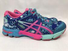 Asics Gel Noosa Tri 11 Blue Pink Running Walking Training Shoes Womens Size 7