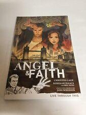 Angel And Faith Vol 1 Live Through This Tpb Nm Near Mint