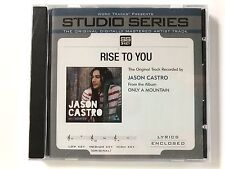 Studio Series - Jason Castro Rise to You - accompaniment track christian cd idol