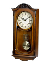 Bulova C3542 Cranbrook Old World Clock Old Classic Style Retro Walnut Finish