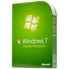 Microsoft Windows 7 Home Premium 32 & 64 bit with DVD FULL Version