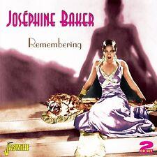 JOSEPHINE BAKER - REMEMBERING 2 CD NEU