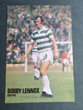 BOBBY LENNOX - CELTIC -1 PAGE PICTURE- CLIPPING/CUTTING