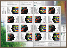 Canada Stamps -Full Pane of 16 -Nobel Prize Winners #2061-2062 -MNH