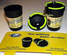 2 Stub Out Cupholder Style Self Extinguishing Cigarette Ashtray cup holder USA