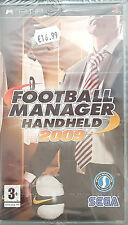 FOOTBALL MANAGER HANDHELD 2009 -2008- Sony PSP Game -PAL-