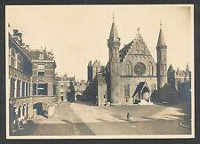 's-Gravenhage  Binnenhof en Ridderzaal (13e eeuw) voorgefrankeerde briefkaart