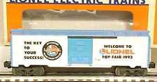 Lionel 6-19923 1993 Toy Fair Boxcar MT/Box