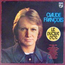 Claude François 33 tours Disque d'Or