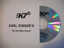 EARL ZINGER'S : ON MY WAY HOME ♦ CD SINGLE PORT GRATUIT ♦