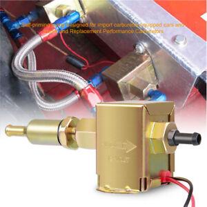 2.5-4PSI Electric Fuel Pump Engine Gas Diesel Low Pressure External Universal US