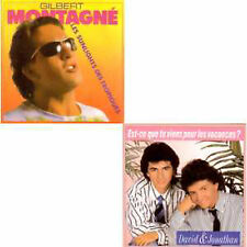 CD Single Gilbert Montagné  David & Jonathan Les sunlights des tropiques version