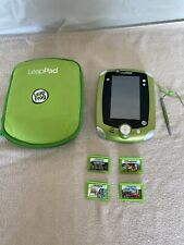 LeapFrog LeapPad 2 Explorer System Tablet Tested With Case And 4 Games