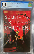 something is killing the children 11 cgc 9.4 First Print