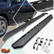 For 09 20 Dodge Ram 1500 Extended Cab 55side Step Nerf Bar Running Board Black Fits Dodge Ram 1500