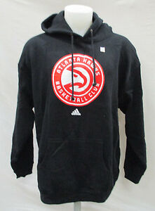 Atlanta Hawks NBA Adidas Men's Pullover Big Logo Hoodie Flawed