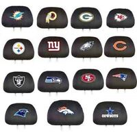NFL HEAD REST COVERS  Priced from $8.95 & ,up , best deal & watch for sales