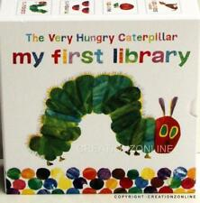 THE VERY HUNGRY CATERPILLAR MY FIRST LIBARAY 4 LARGE BOARD BOOKS BRAND NEW
