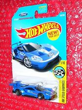2017 Hot Wheels 2016 Ford GT Race #166 HW Speed Graphics  DTW92-D9B1J  J case
