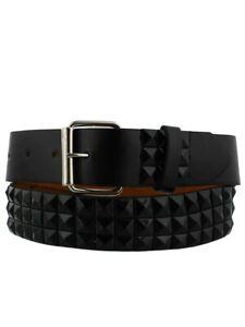 Studded Belt Pyramid Black