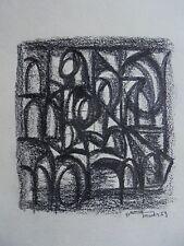 Art Moderne XX Daniel LANDER Dessin Cubiste Signé daté 59- DLG Léger Atlan 6/11
