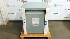 NEW 25 KVA Distribution Transformer HV 480 Delta LV 240 Delta Eaton V48M22T25EE