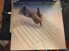 GILBERT O SULLIVAN-SOUTHPAW LP 1977 1ST PRESSING VG+/EX+