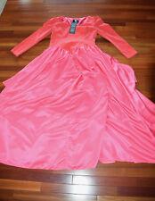 New Nwt Halloween Von Lancelot Salmon Pink Ball Gown Victorian Sz 12 L Dress