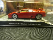 JAMES BOND CARS COLLECTION 039 LAMBORGHINI DIABLO DIE ANOTHER DAY