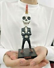 """Craft Crown Skull Man Action Figure statue Toy Model Gift Collect Skull decor 7"""""""