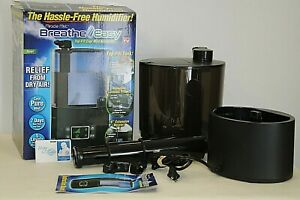 Ontel Breathe Easy Miracle Mist Humidifier Top Fill Tank 7 Day Run Time
