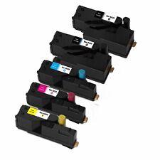 5PK (2K,C,M,Y) Toner Cartridges for Xerox phaser 6020 6022 Workcentre 6025 6027