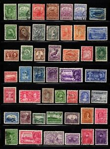 Lot 47 good stamps Newfoundland Canada used