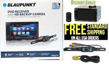 "BLAUPUNKT CAR 2-DIN 6.2"" TOUCHSCREEN DVD CD BLUETOOTH STEREO FREE REAR CAMERA"