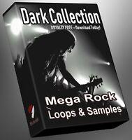 Rock Dark Collection Part 1 Loops Cubase Reason Presonus Ableton Logic FL Studio