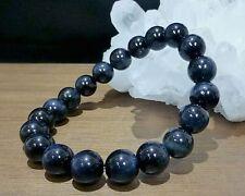 Blue Tiger Eye Round Beads Bracelet  8 MM AAAA++++