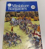 Miniature Wargames Number 29, October 1985 oop SC