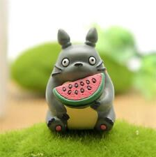 New Anime My neighbor totoro Cute Sit Eat watermelon totoro figure figurine Gift