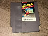M.U.S.C.L.E. Muscle Tag Team Wrestling Nintendo Nes Cleaned & Tested Authentic