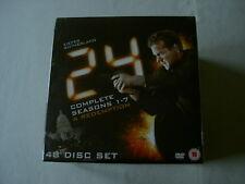 24 Complete Seasons 1-7 & Redemption new sealed UK 48-DVD Kiefer Sutherland