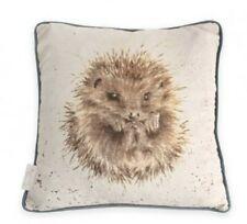 Wrendale Designs Hedgehog Cushion 'Awakening' Illustrated by Hannah Dale, 40cm